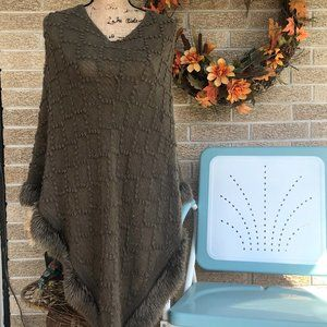 Charlie Paige Women's Poncho Sweater
